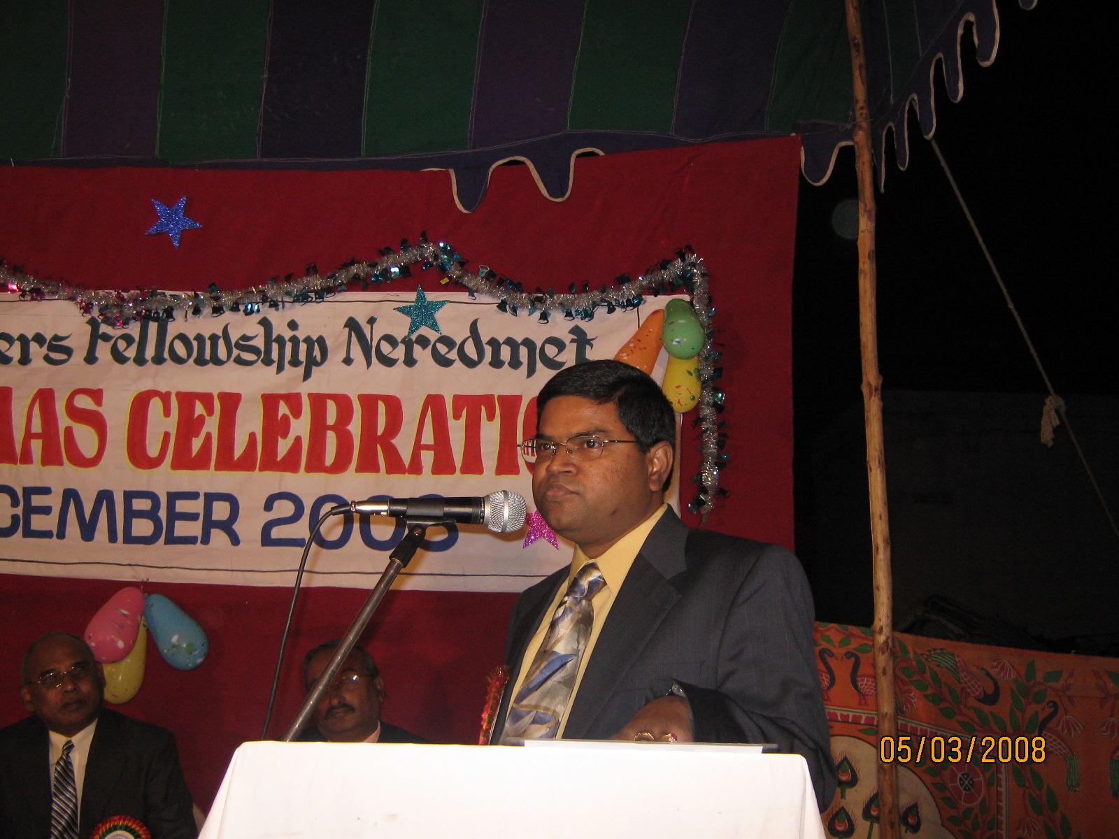 Vasantaraju Addressing UPF Members