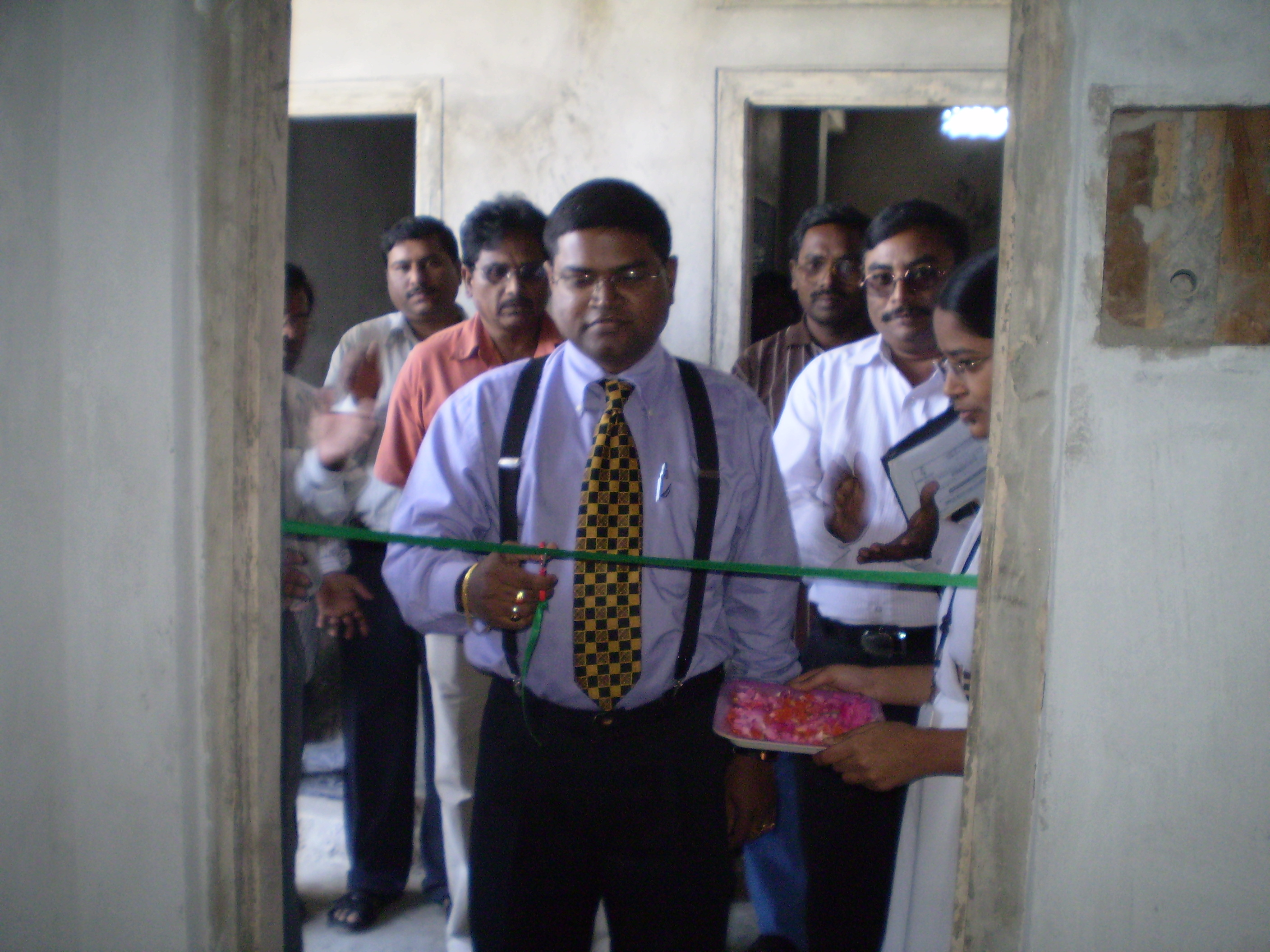 Inauguration of a Library